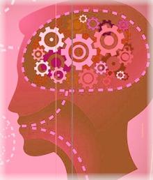 image cerveau connecte