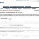Image du renvoi automatique PayPal
