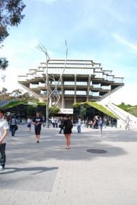 La bibliothèque Geisel, campus de UCSD (San Diego – USA)