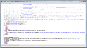 Code source avec la redirection js par Referer