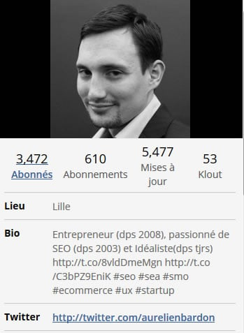 Bio Twitter Aurélien Bardon