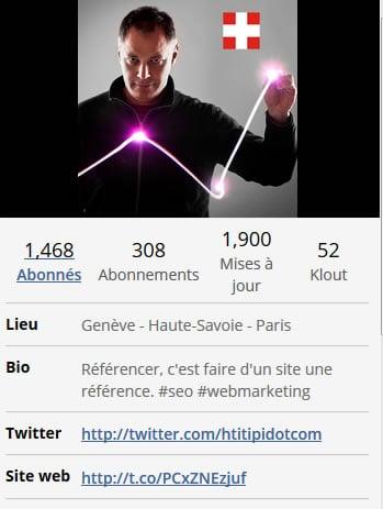 Bio Twitter Aurélien Berrut