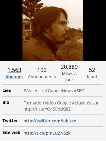 Bio Twitter Clément Pessaux