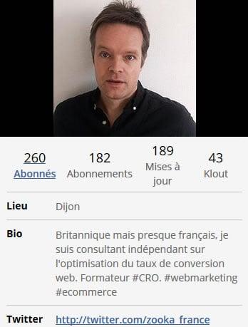 Bio Twitter Paul Evans